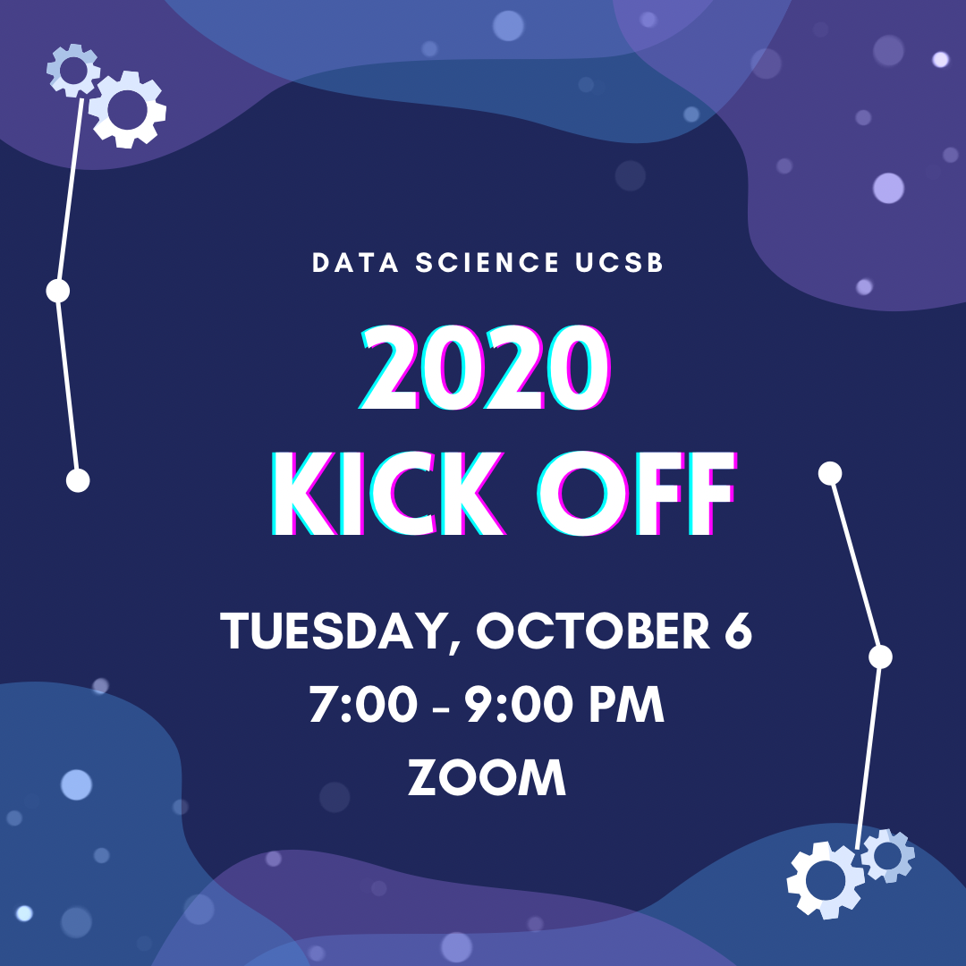 2020 Data Science UCSB Kickoff