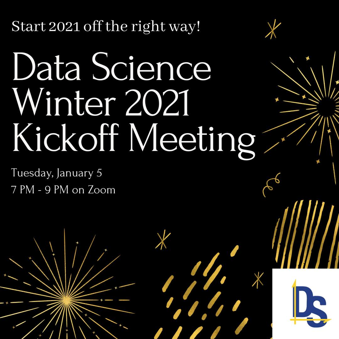Winter 2021 Data Science UCSB Kickoff
